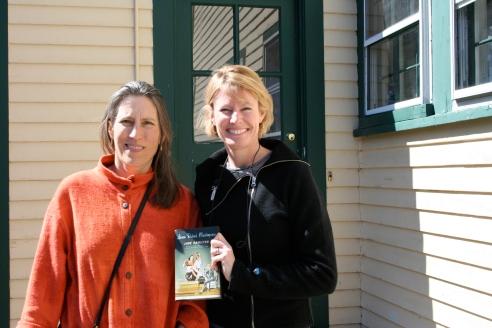 Jane Hamilton, and me.