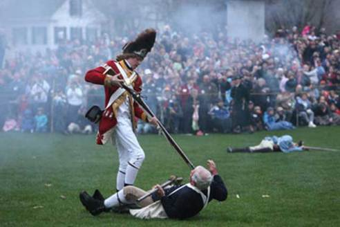 "I know it's odd to use this photo, of a gruesome re-enactment, as a ""harbinger of hope"".  Read on."