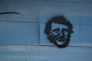 One graffiti artist's homage to Thoreau