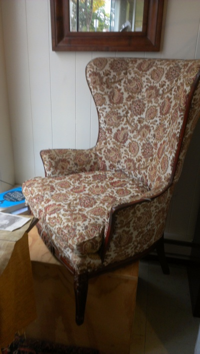 Eileen's chair: BEFORE