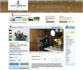An early image from our 2008 website.