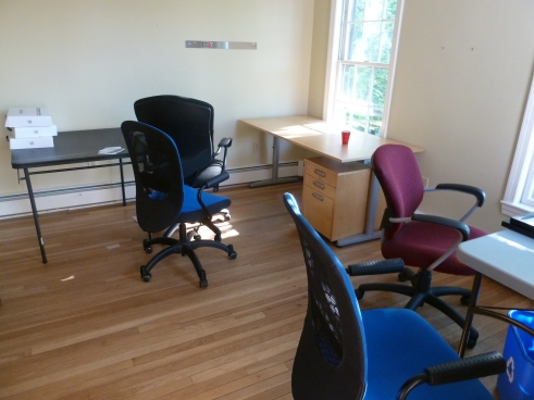 One of the offices in our old space, just after we moved out.