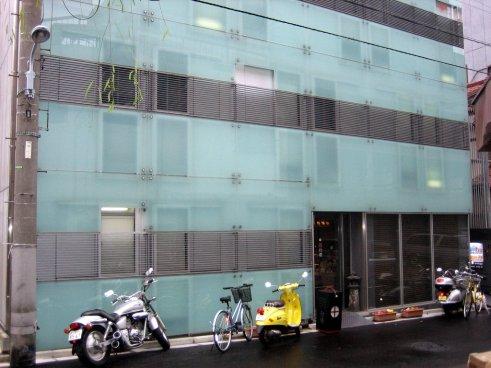 Exterior of Tokyo's Andon Ryokan