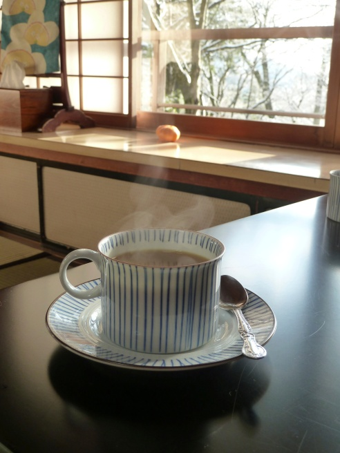 "I have to admit that the only menu item I worried about was coffee.  They did not have any in my last ryokan and I walked miles to try and find some.  I had sent a message ahead at this one....""please provide coffee at breakfast.""  They did.  It was steaming, hot and delicious."