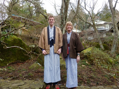 "But beyond the food and baths, there are countless reasons I love ryokan.  It's fun to swan around all day an night in a ""yukata."""