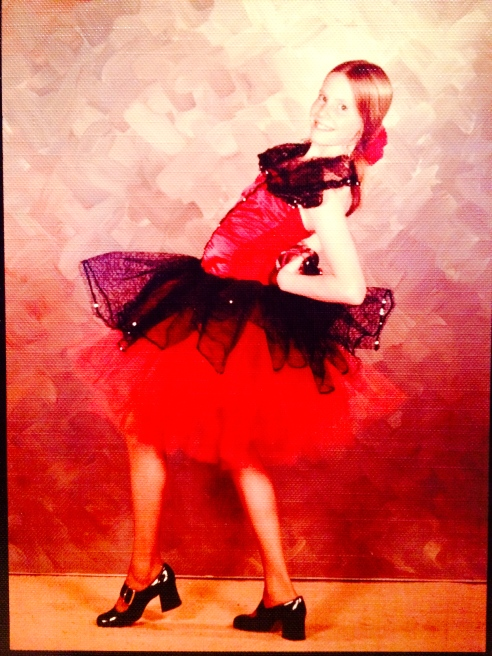 """Spanish"" dancer!"