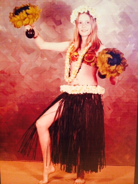 """Hawaiian"" dancer!  (I will spare you the belly dancer, and the Tahitian version.)"