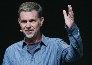 Reed Hastings, CEO of Netflix. (Photo by Justin Sullivan/Getty Images)
