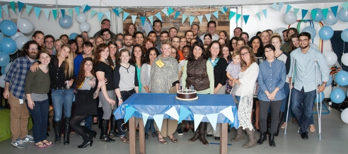 Grommet team and alums at our 7th birthday celebration