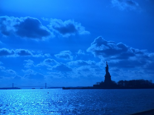 One can only imagine what our family members felt when they saw this statue from Ellis Island.