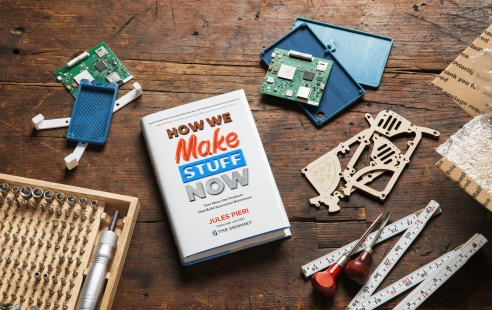 """Cover of """"How We Make Stuff Now"""""""